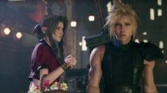 Aerith und Cloud Final Fantasy 7 Remake