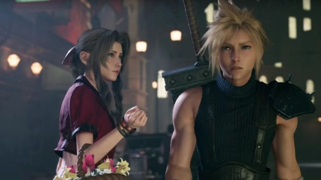 Aerith und Cloud Final Fantasy 7 Remake