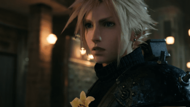 Cloud Midgar Final Fantasy 7 Remake