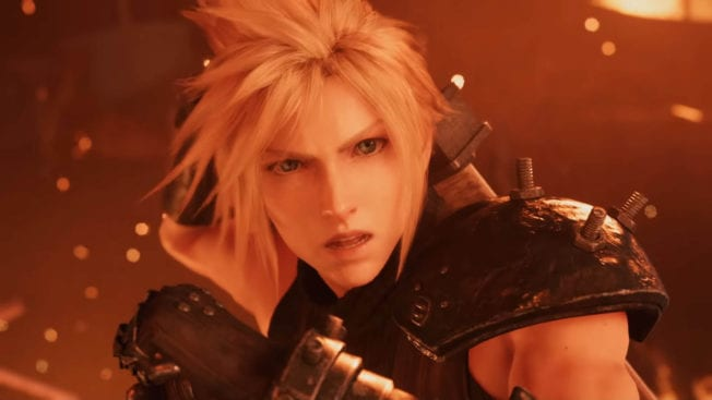 Cloud Strife Final Fantasy 7 Remake