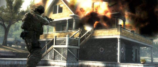 CS:GO Explosion
