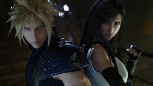 Final Fantasy 7 Remake Tifa und Cloud