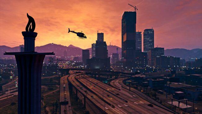 GTA-Online-Skyline-Los-Santos