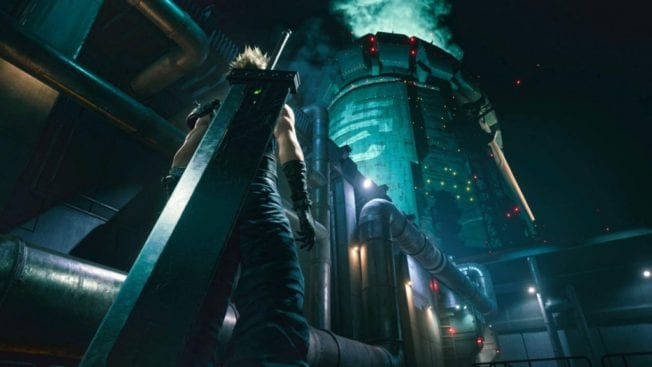 Opening Final Fantasy 7 Remake