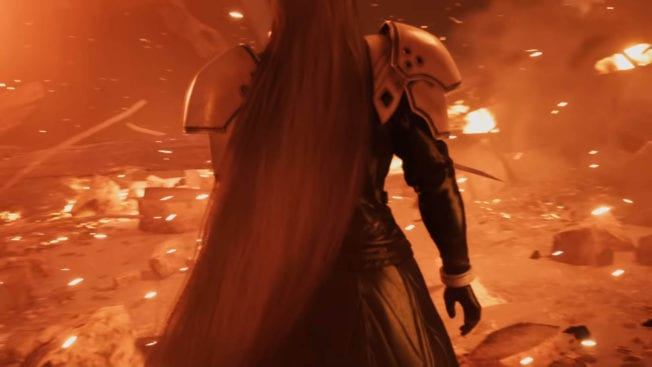 Sephiroth Final Fantasy 7 Remake
