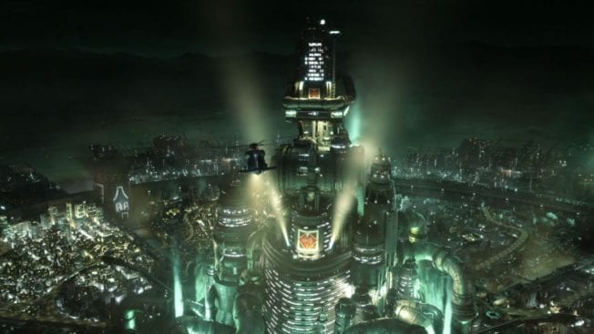 Shinra Tower Final Fantasy 7 Remake