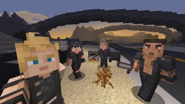 Minecraft FFXV