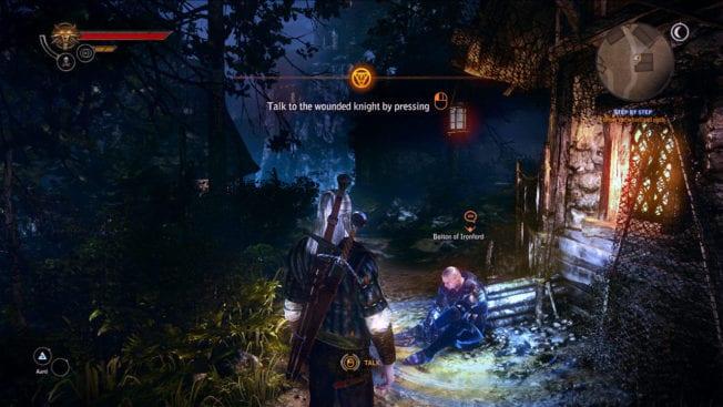 The Witcher 2: Assassins of Kings Beginn