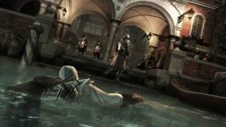 Assassins Creed 2 Ezio schwimmen