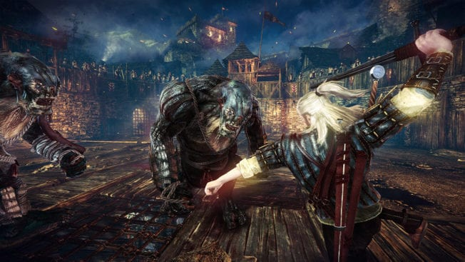 The Witcher 2: Assassins of Kings Angriff