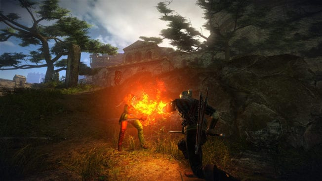 The Witcher 2: Assassins of Kings Igni Zeichen