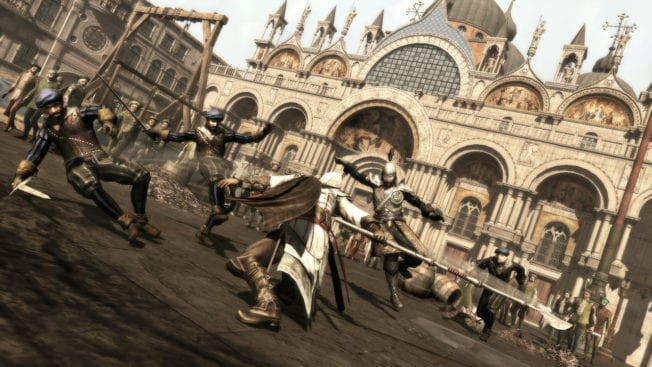 Assassins Creed II Kampf