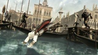 Assassins Creed II Ezio Wasser