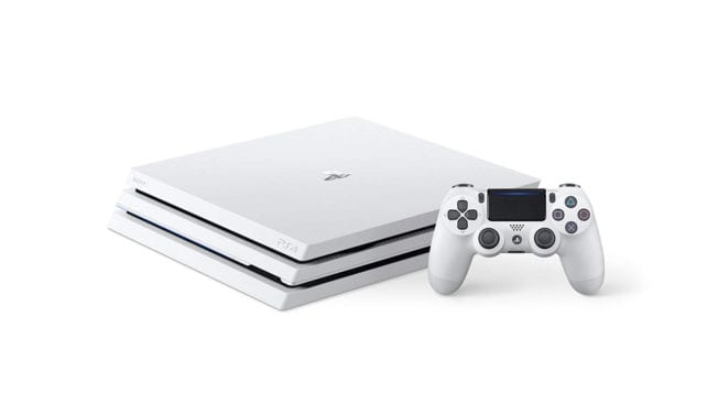 PlayStation 4 Pro weiß