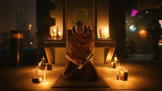 Cyberpunk 2077 Gebet