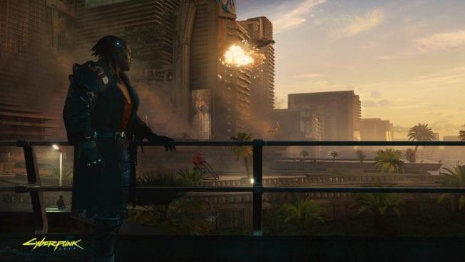 Cyberpunk 2077 Aussicht