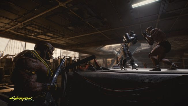Cyberpunk 2077 Boxring