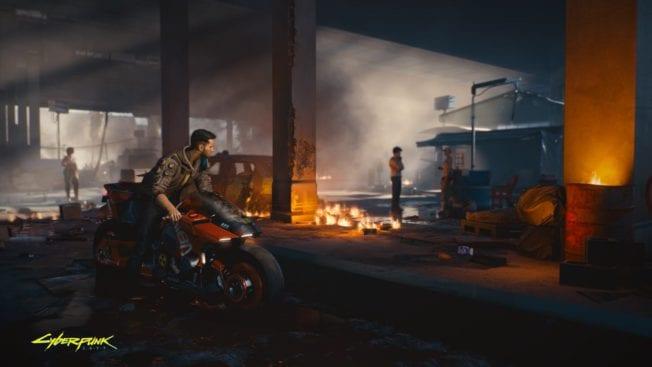 Cyberpunk 2077 Motorcycle