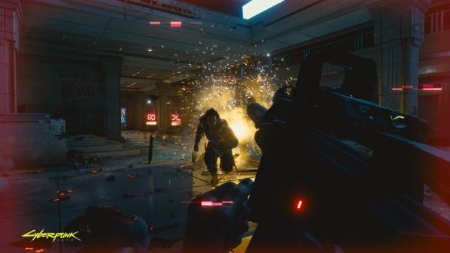 Cyberpunk 2077 Explosion