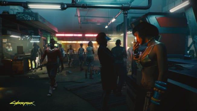 Cyberpunk 2077 Menschen