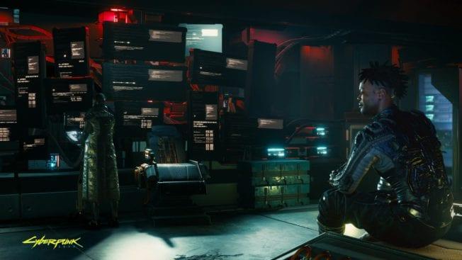 Cyberpunk 2077 Raum