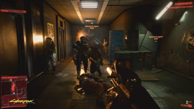 Cyberpunk 2077 Konfrontation