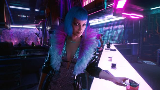 Cyberpunk 2077 Evelyn