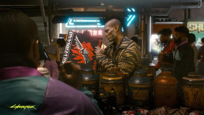 Cyberpunk 2077 Platte