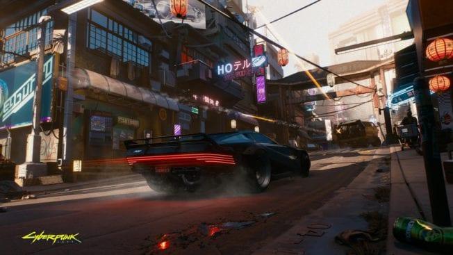 Cyberpunk 2077 Fahrzeug