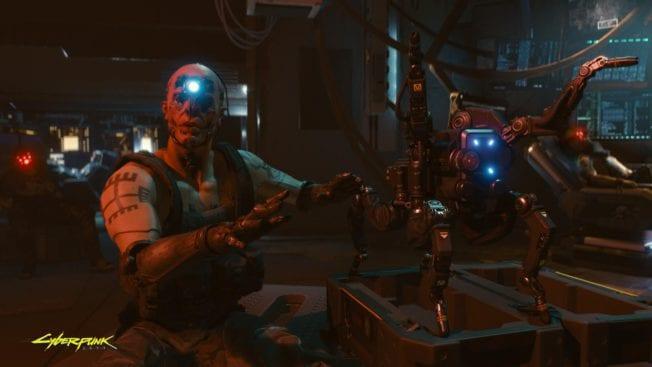 Cyberpunk 2077 Roboter