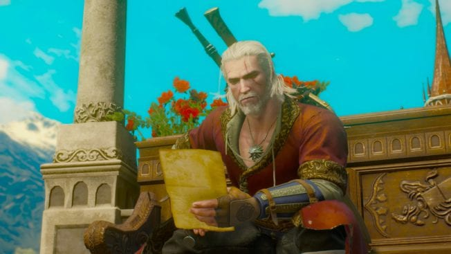 The Witcher 3: Blood and Wine Geralt Brief