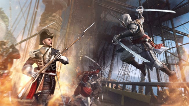 Assassin's Creed 4 Black Flag Schiffskampf