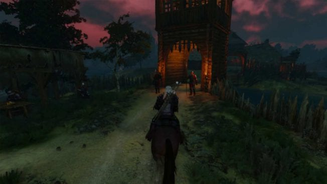 The Witcher 3: Wild Hunt Switch Ritt