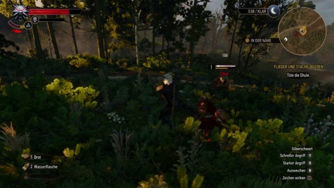 The Witcher 3: Wild Hunt Kampf