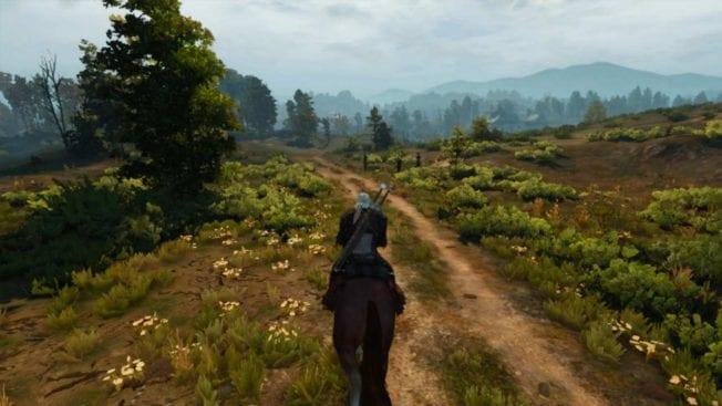 The Witcher 3: Wild Hunt Reiten