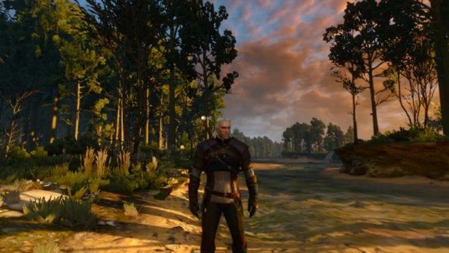 The Witcher 3: Wild Hunt Sonnenuntergang
