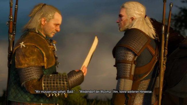 The Witcher 3: Wild Hunt Vesemir