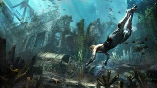 Assassin's Creed 4 Black Flag Tauchen