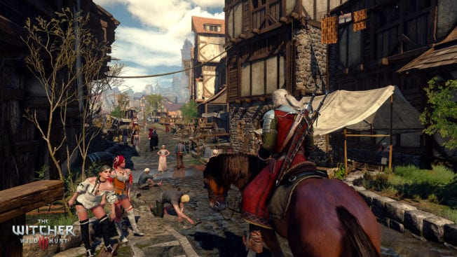 The Witcher 3: Wild Hunt Gasse