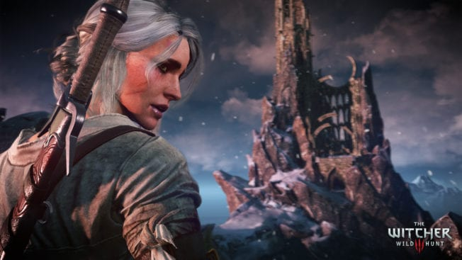 The Witcher 3: Wild Hunt Ciri