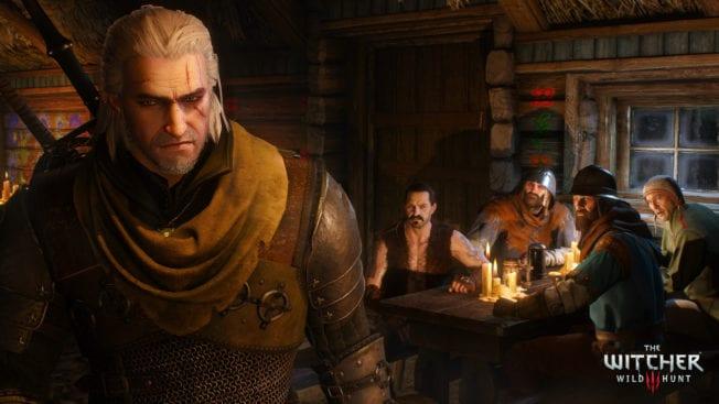 The Witcher 3: Wild Hunt Geralt Taverne