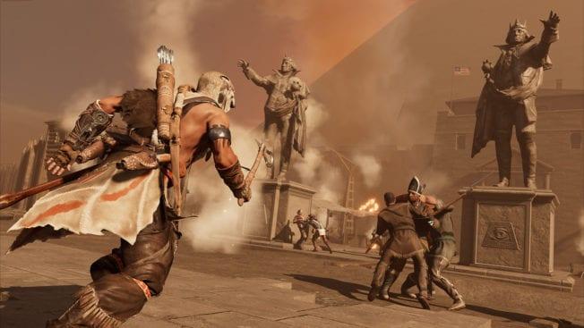 Assassins Creed 3 Remastered Kampf
