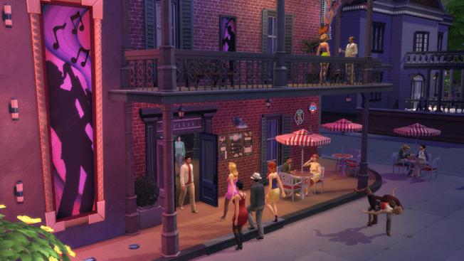 Die Sims 4 Öffentliche Orte