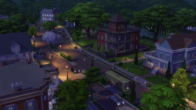 Die Sims 4 Nacht