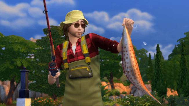 Die Sims 4 Fischen