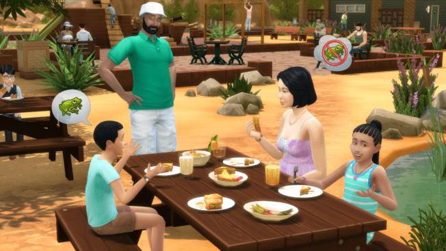 Die Sims 4 Picknick