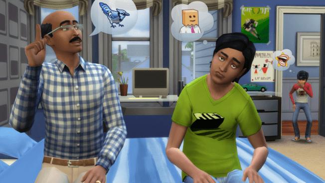 Die Sims 4 Gedanken