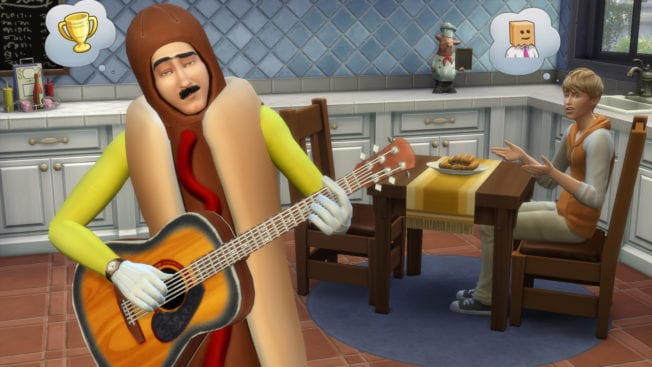 Die Sims 4 Hobby