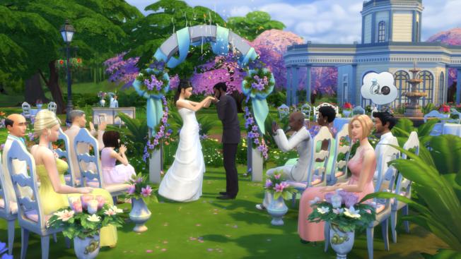 Die Sims 4 Hochzeit