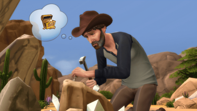 Die Sims 4 Schatzsucher